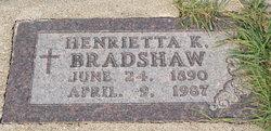 Henrietta K <i>Traxler</i> Bradshaw