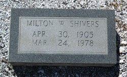Milton W. Shivers