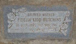 Fidelia <i>Kidd</i> Hutchins