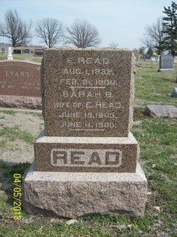 E. Read