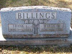 Myrtie Miranda <i>Morgan</i> Billings