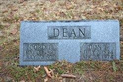 Cordie <i>Days</i> Dean
