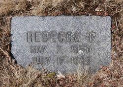 Rebecca Catherine <i>Faulkingham</i> Woodward