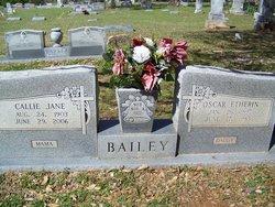 Callie Jane <i>Barker</i> Bailey