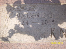 Marjorie J. Margie <i>Ross</i> Knowles