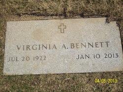 Virginia A. <i>Bergman</i> Bennett