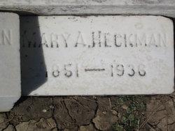 Mary Ann <i>Pfleger</i> Heckman
