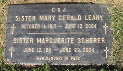 Catherine Mary Gerald Leahy