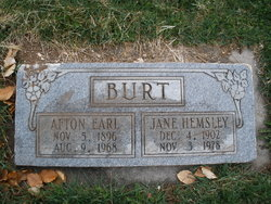 Afton Earl Burt