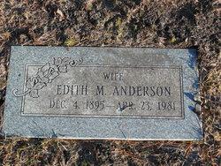 Edith M Anderson