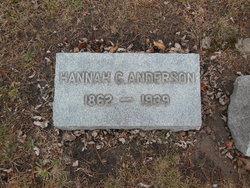 Hannah C Anderson