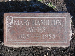 Mary <i>Hamilton</i> Ayers