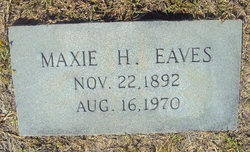 Maxie <i>Hiers</i> Eaves