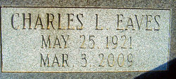 Charles Lee Eaves, Sr