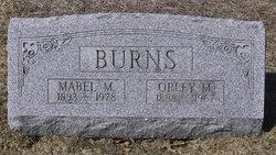 Mabel M Burns