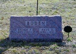 Grace F <i>Garrett</i> Boden