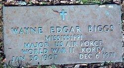 Wayne Edgar Biggs