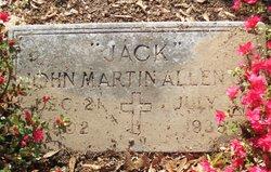 John Martin Jack Allen, Jr