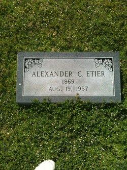 Alexander C. Etier