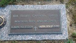 Ida Eloise <i>Carroll</i> Baker