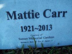 Mattie Carr