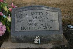 Betty S Ahrens
