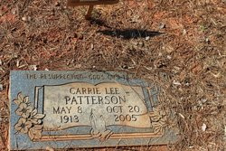 Carrie Lee Patterson