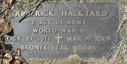 Frederick Bond Halkyard