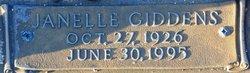 Janelle <i>Giddens</i> Dominy