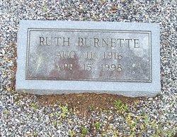 Ruth <i>Burnette</i> Anderson