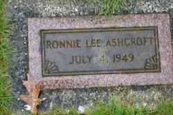 Ronnie Lee Ashcroft