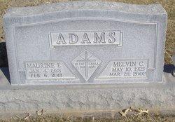 Melvin C Adams