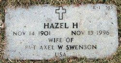 Hazel Helen <i>LaBrie</i> Swenson