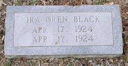 Ira Oren Black