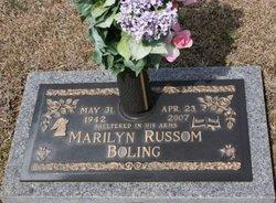Marilyn Nadine <i>Russom</i> Boling