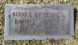 Bernice F. Barnes
