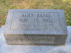 Alice <i>Banes</i> Ivey