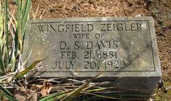 Wingfield Sallie <i>Zeigler</i> Davis