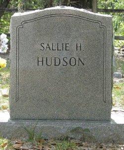 Sallie H Hudson