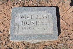 Novie Jean <i>Rountree</i> Dillard