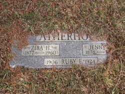 Jennie Edna <i>English</i> Atherholt