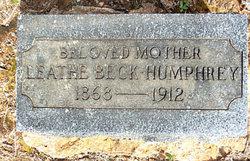 Leathe <i>Beck</i> Humphrey