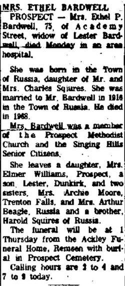 Ethel P. <i>Squire</i> Bardwell