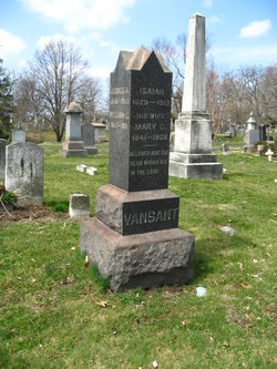 Mary C. <i>Wombaugh</i> Van Sant