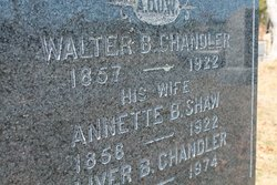 Annette Bartlett <i>Shaw</i> Chandler
