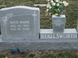 Alice Marie <i>McKinney</i> Stallsworth