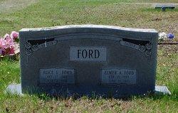 Alice Aletha <i>Pelkey</i> Ford
