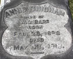 Annie <i>Windham</i> Barr