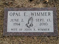 Opal E <i>White</i> Wimmer
