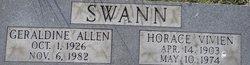 Geraldine <i>Allen</i> Swann